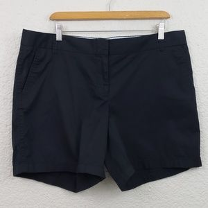 J.Crew Chino Shorts Broke-in plus size 16
